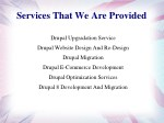 services that we are provided 1