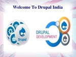 welcome to drupal india