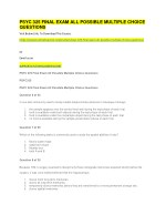 psyc 325 final exam all possible multiple choice