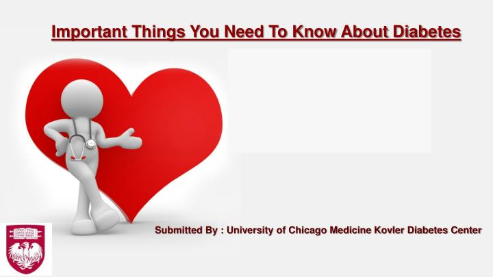 submitted by university of chicago medicine kovler diabetes center n.