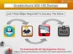 grades4sure 200 105 dumps