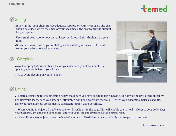 Ppt Lower Back Pain Causes Symptoms And Treatments Temedcom