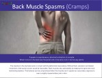 back musclespasms cramps