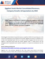 eggplant seeds market consolidated revenues