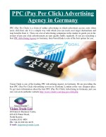 ppc pay per click advertising agency in germany