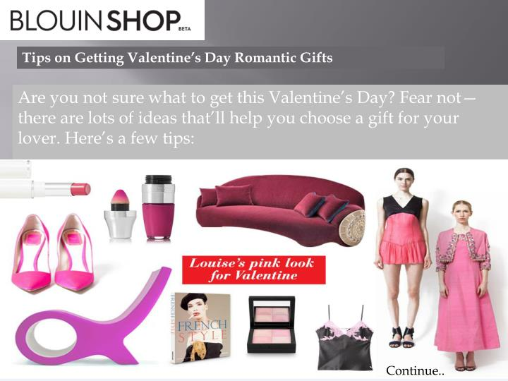 tips on getting valentine s day romantic gifts n.