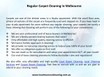 regular carpet cleaning in melbourne 1