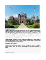 studying in canada canada is a democratic country