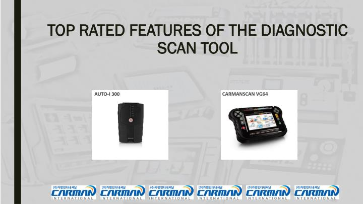 top rated features of the diagnostic scan tool n.