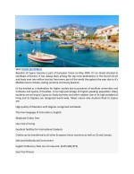 why study in cyprus republic of cyprus became