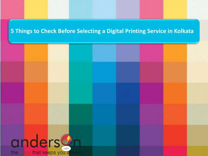 5 things to check before selecting a digital n.