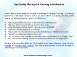 top quality moving out cleaning in melbourne 1