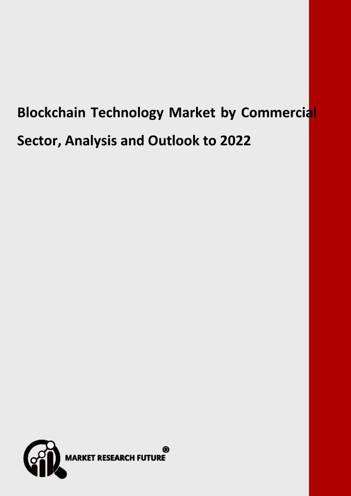 blockchain technology market research report n.