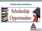 scholarship assistance