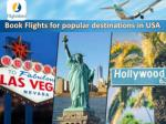 book flights for popular destinations in usa