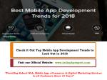 check it out top mobile app development trends