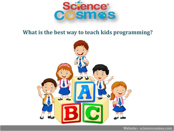 what is the best way to teach kids programming n.