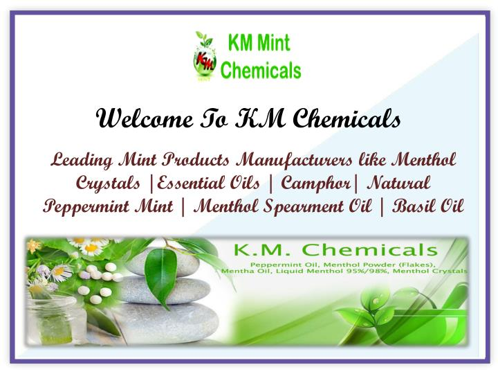 welcome to km chemicals n.