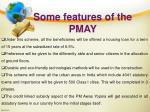 some features of the pmay