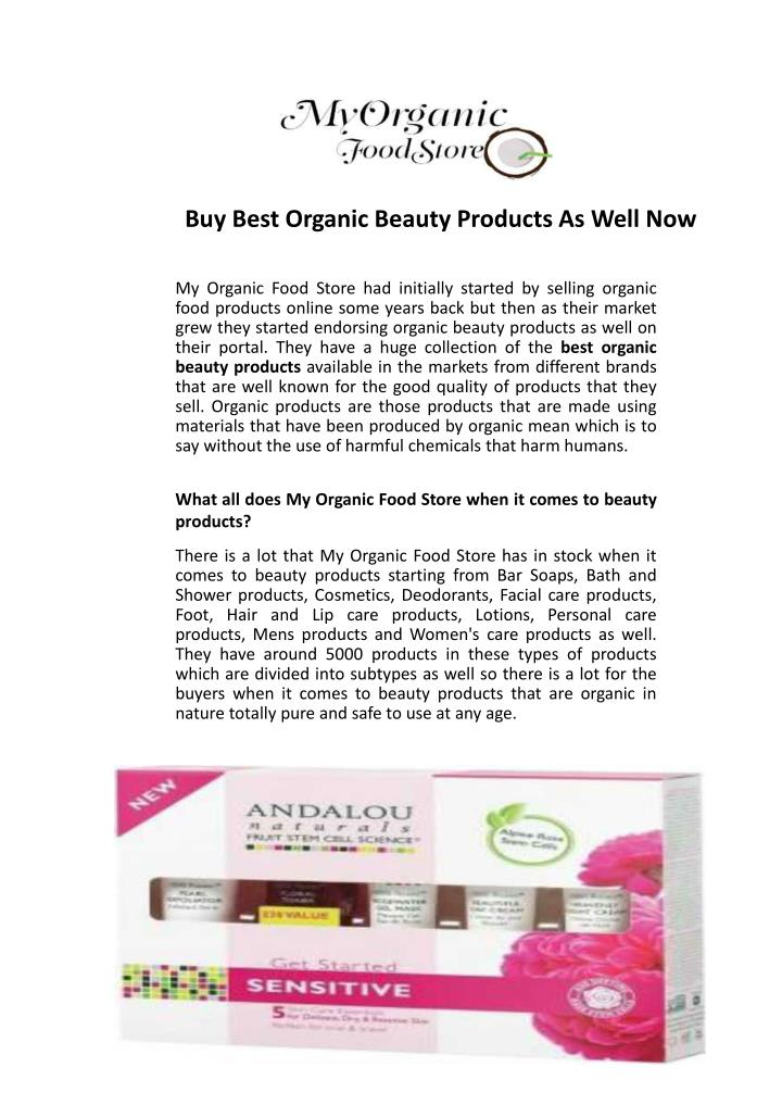 buy best organic beauty products as well now n.