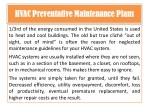hvac preventative maintenance plans hvac