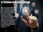 3 erosion of organic reach