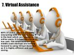 7 virtual assistance