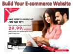 build your e commerce website