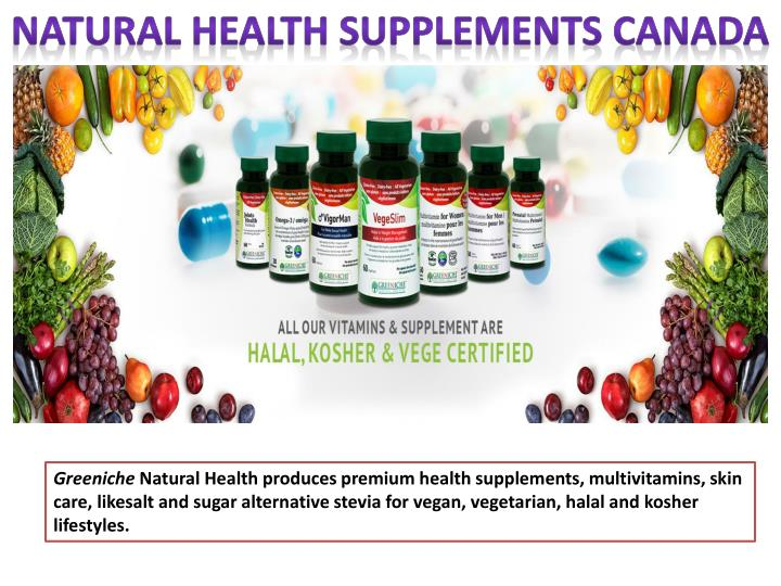 natural health supplements canada n.