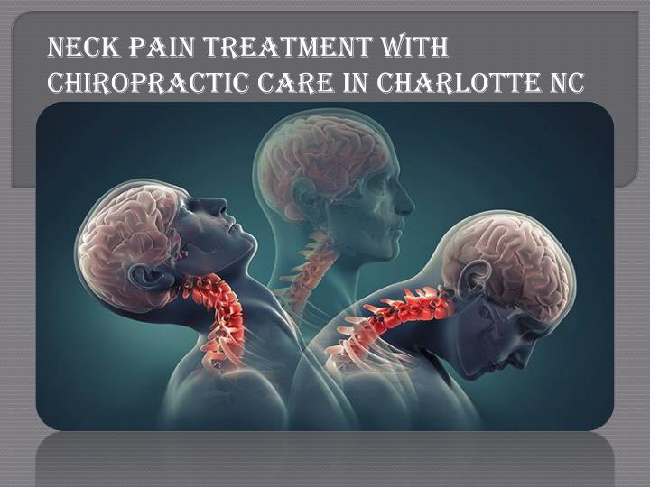 neck pain treatment with chiropractic care n.