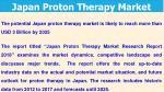 japan proton therapy market