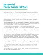 essential fatty acids efa s