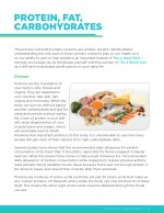 protein fat carbohydrates