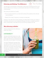 detoxing and dieting the difference