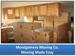 montgomery moving co moving made easy