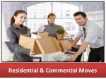 residential commercial moves
