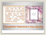 thoughtful valentine s day quotes