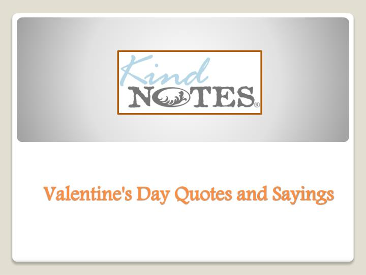 valentine s day quotes and sayings n.