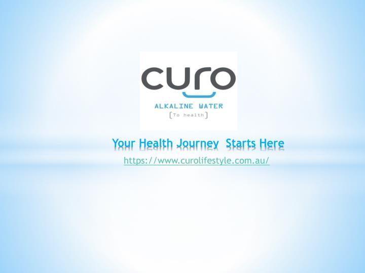 your health journey starts here n.