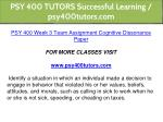 psy 400 tutors successful learning psy400tutors 17