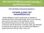 psy 400 tutors successful learning psy400tutors 18