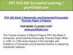 psy 405 aid successful learning psy405aid com 11