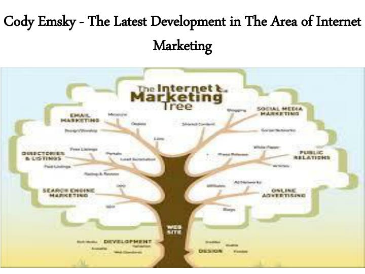 cody emsky the latest development in the area of internet marketing n.