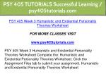 psy 405 tutorials successful learning 13