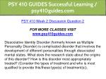 psy 410 guides successful learning psy410guides 9