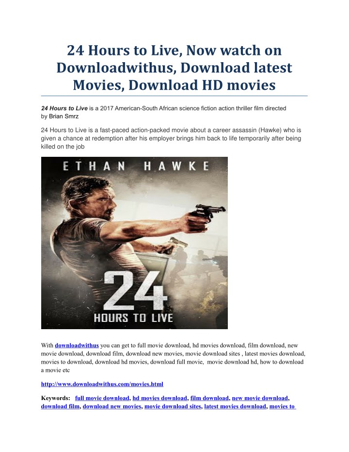 24 hours to live now watch on downloadwithus n.