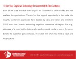 1 use your cognitive technology to connect with