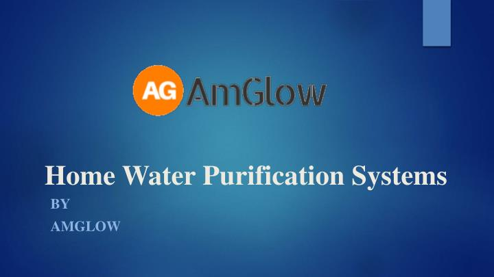 home water purification systems n.