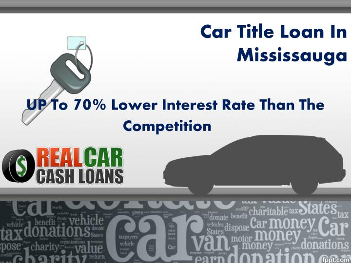 car title loan in mississauga n.