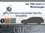 car title loan in mississauga